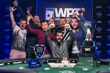Bulgaria's Milen Stefanov Earns First Major Title in Winning WPT Seminole Rock 'N' Roll Poker Open